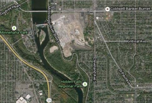 The Ford Motor Co. development site, provided by Google Maps