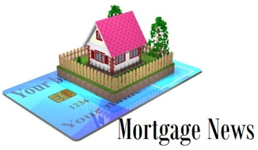 42421196 - residential house and a bank card are on white background.